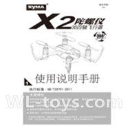 SYMA X2 X2A RC Quadrocopter parts-10 Manual