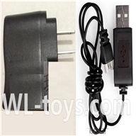 SYMA X2 X2A RC Quadrocopter parts-11 USB-to-Socket conversion plug & USB Charge Cable