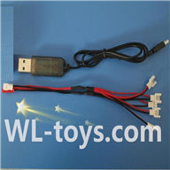 SYMA X2 X2A RC Quadrocopter parts-19 USB & 1-to-5 Cable (Not include the 5 battery)