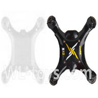 SYMA X12 RC Quadrocopter parts-02 Bottom frame & Upper shell cover-Black