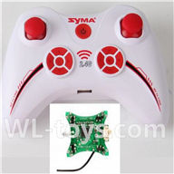SYMA X12 RC Quadrocopter parts-16 Transmitter & Circuit board
