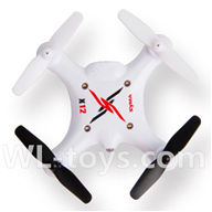 SYMA X12 RC Quadrocopter parts-19 SYMA X12 BNF-White(Only SYMA X12 UFO body,No battery,No charger,No transmitter)