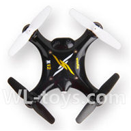 SYMA X12 RC Quadrocopter parts-20 SYMA X12 BNF-Black(Only SYMA X12 UFO body,No battery,No charger,No transmitter)
