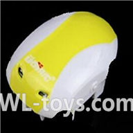 UDI U939 RC Quadcopter parts-03 Upper shell cover-Yellow