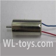 UDI U939 RC Quadcopter parts-14 rotating Motor with red and Blue wire(1pcs)