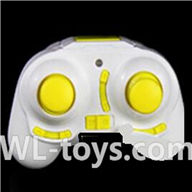 UDI U939 RC Quadcopter parts-18 Transmitter-Yellow