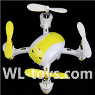 UDI U939 RC Quadcopter parts-28 BNF-Yellow (Only Quadcopter boy,no battery,No charger,No transmitter)