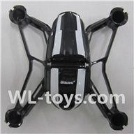 UDI U941 RC Quadcopter parts-01 Main body frame with sheel cover
