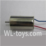 UDI U941 RC Quadcopter parts-19 rotating Motor with red and Blue wire(1pcs)
