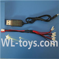 UDI U941 RC Quadcopter parts-36 USB & 1-to-5 Cable (Not include the 5 battery)