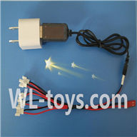 UDI U941 RC Quadcopter parts-37 USB-to-Socket conversion plug & USB & 1-to-5 Cable ((Not include the 5 battery)