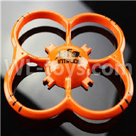 NiHui U107 U207 RC Quadrocopter Parts-02 Outer protect frame-Orange
