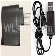 NiHui U107 U207 RC Quadrocopter Parts-20 USB-To-Socket Conversion plug& USB Charge Cable