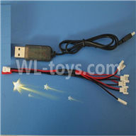 NiHui U107 U207 RC Quadrocopter Parts-23 USB & 1-to-5 Cable (Not include the 5 battery)