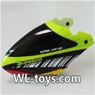 NiHui H377 RC Helicopter Parts-01 Head cover shell