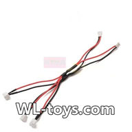 NiHui H377 RC Helicopter Parts-33 Upgrade 1-to-3 convert wire