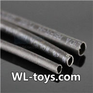 NiHui H377 RC Helicopter Parts-37 Thermoplastic Pipe (Version 2-Diameter 3mm & Length 10cm)-Total 3pcs