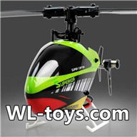 NiHui H377 RC Helicopter Parts-42 BNF(Only H377 helicopter body ,No battery,No transmitter,No charger) Version:American version or Janpan version