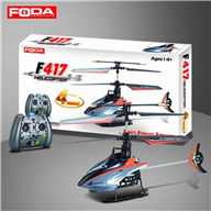 Foda F417 RC helicopter F-417 model ,Feidatoys F417 helicopter parts list