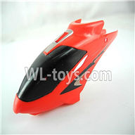 Foda F307 F307C F307H F307L RC helicopter parts-01 Head cover(Red)