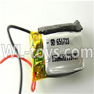 Foda F307 F307C F307H F307L RC helicopter parts-06 Battery 3.7v 150mah