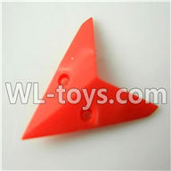 Foda F307 F307C F307H F307L RC helicopter parts-12 Horizontal wing-(Red)