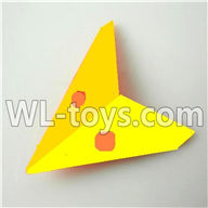 Foda F307 F307C F307H F307L RC helicopter parts-17 Horizontal wing-(Yellow)