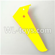 Foda F307 F307C F307H F307L RC helicopter parts-18 Vertical wing-(Yellow)