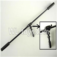 Foda F307 F307C F307H F307L RC helicopter parts-27 Balance bar & Head for the inner shaft & Pin for balance bar