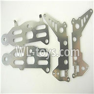 Foda F307 F307C F307H F307L RC helicopter parts-36 Metal frame A and B(4PCS)