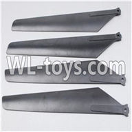SYMA S033 S033G RC Helicopter parts-03 Main blades(4pcs-2A+2B)
