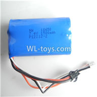 SYMA S033 S033G RC Helicopter parts-11 Official 7.4v 1500mah LI-POLY battery with SM black plug