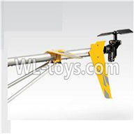 SYMA S033 S033G RC Helicopter parts-37 Tail unit A-Yellow