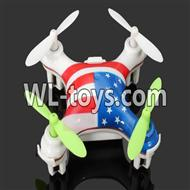 WLtoys V676 RC Quadcopter parts-01 BNF-Color 1(Only quadcopter,No battery,No transmitter,No charger)