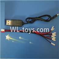 WLtoys V676 RC Quadcopter parts-14 USB & 1-to-5 Cable (Not include the 5 battery)