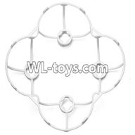 WLtoys V676 RC Quadcopter parts-19 Outer protect frame Version 1-White