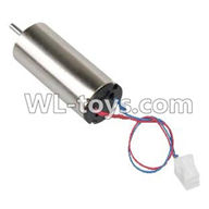 WLtoys V626 RC Quadcopter parts-07 rotating Motor with red and Blue wire
