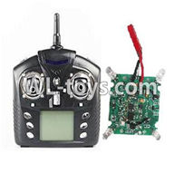 WLtoys V626 RC Quadcopter parts-11 Transmitter & Circuit board