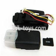 WLtoys V626 RC Quadcopter parts-23 camera unit(Include camera,Reader,2GB Memory card)