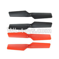 WLtoys V636 RC Quadcopter parts-02 Main rotor blades(4pcs)