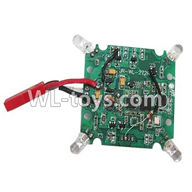 WLtoys V636 RC Quadcopter parts-13 Circuit board,Receiver board