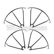 WLtoys V636 RC Quadcopter parts-16 Outer protect frame(4pcs)