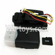 WLtoys V636 RC Quadcopter parts-23 camera unit(Include camera,Reader,2GB Memory card)
