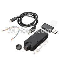 WLtoys V636 RC Quadcopter parts-24 5,000,000 Pixels,1080P HD Camera unit(Include camera,USB,Data line,Wire)