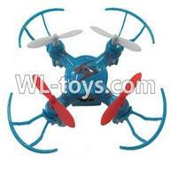WLtoys V646 RC Quadcopter WL V646 parts-01 BNF-Blue(Only quadcopter,No battery,No transmitter,No charger)