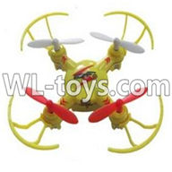 WLtoys V646 RC Quadcopter WL V646 parts-2 BNF-Yellow(Only quadcopter,No battery,No transmitter,No charger)