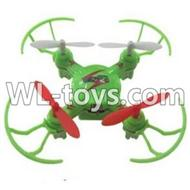 WLtoys V646 RC Quadcopter WL V646 parts-03 BNF-Green(Only quadcopter,No battery,No transmitter,No charger)