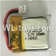 WLtoys V646 RC Quadcopter WL V646 parts-04 3.7v 100mah battery
