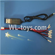 WLtoys V646 RC Quadcopter WL V646 parts-14 USB & 1-to-5 Cable (Not include the 5 battery)