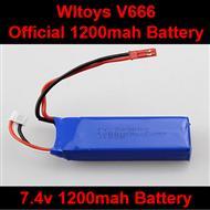 WLtoys V666 RC Quadcopter parts WL toys V666 Official 7.4v 1200mah battery